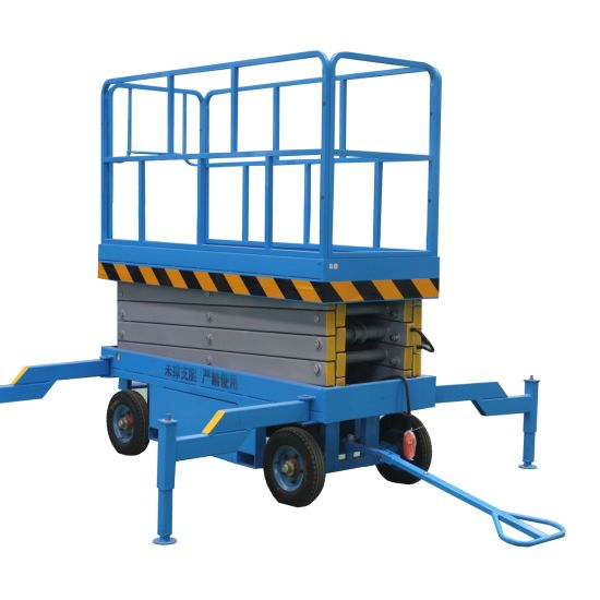 Manufacturer Supply Discount Price 10m Mobile Electric Scissor Lift with Ce pictures & photos