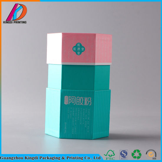 Top Sale Hexagon Cardboard Hat Packaging Gift Box Made In China