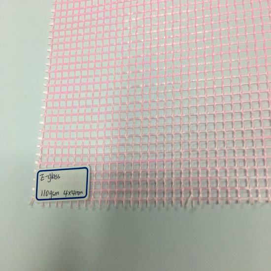 Soft E-Glass Yarn Fiber Glass Mesh pictures & photos