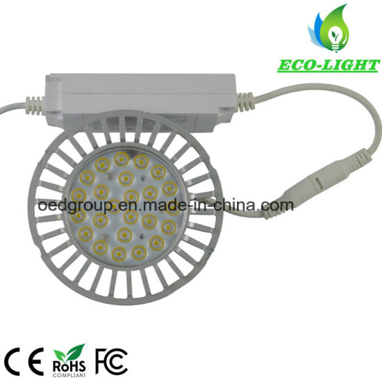 85-265VAC 20W AR111 LED Bulb Without Fan and 95lm/W with Inbuilt Driver and 3years Warranty pictures & photos