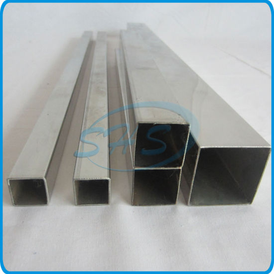 Stainless Steel Weled Square & Rectangular Pipes pictures & photos