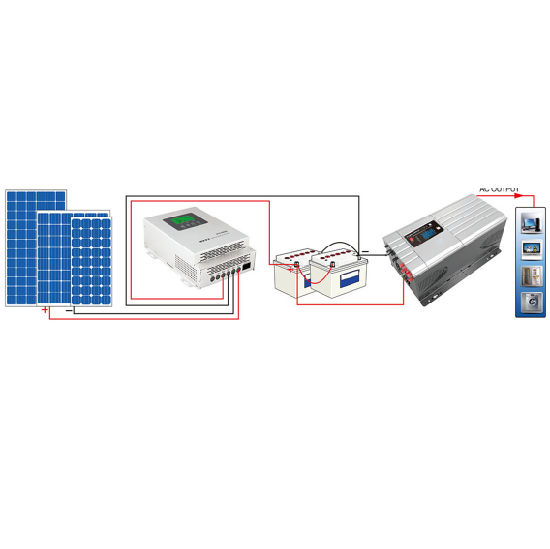 High Frequency Solar Inverter, Pure Sine Wave Wspep3000 pictures & photos