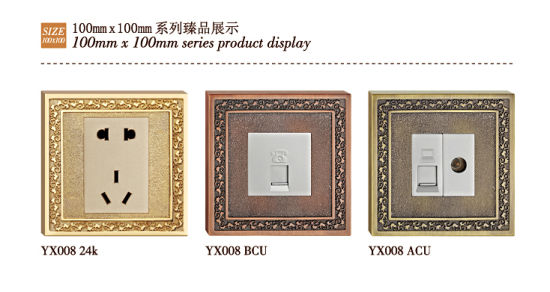 Forged Brass Classic Patterns Brass Tel Socket / Wb Socket pictures & photos