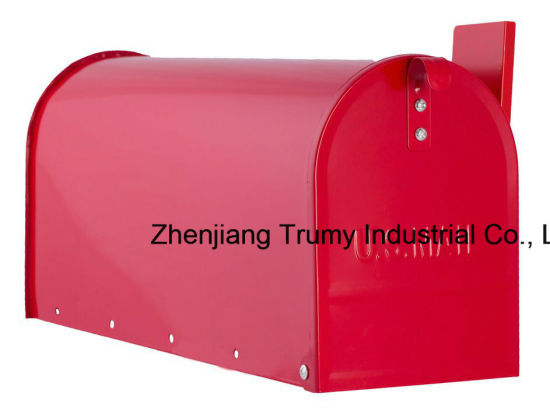 China Manufacturer Wall Mounted Us Mailbox Post-Mount