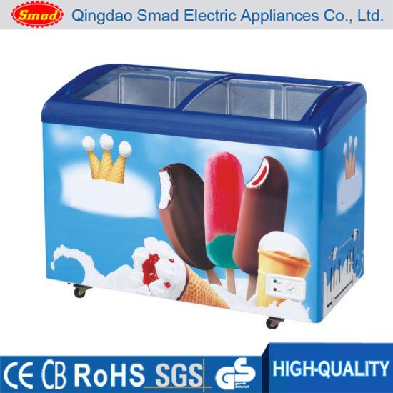 China ice cream freezer glass door freezer chest freezer for ice cream freezer glass door freezer chest freezer for display planetlyrics Gallery