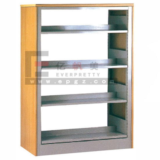 China Latest Hot Sale Metal Stainless Steel Movable Bookshelf