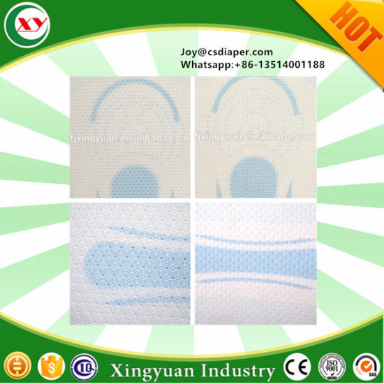 High Quality Pure Plastic Perforated PE Film Ppf for Sanitary Napkin