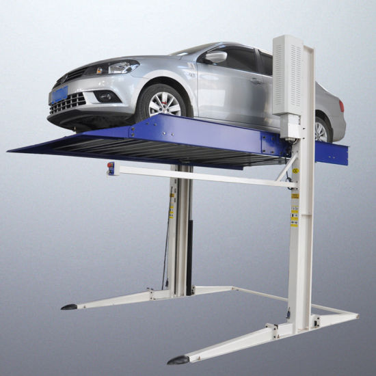 Electric Unlock Car Parking Lift with Ce