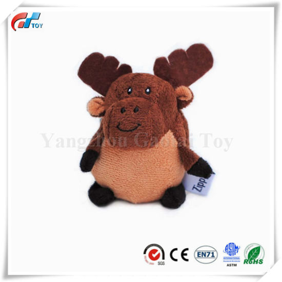 Small Gabbles Moose Musical Dog Toy
