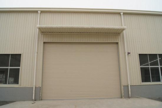 Galvanized Steel / Gi / Prepainted / Powder Coating Rolling Shutter Door