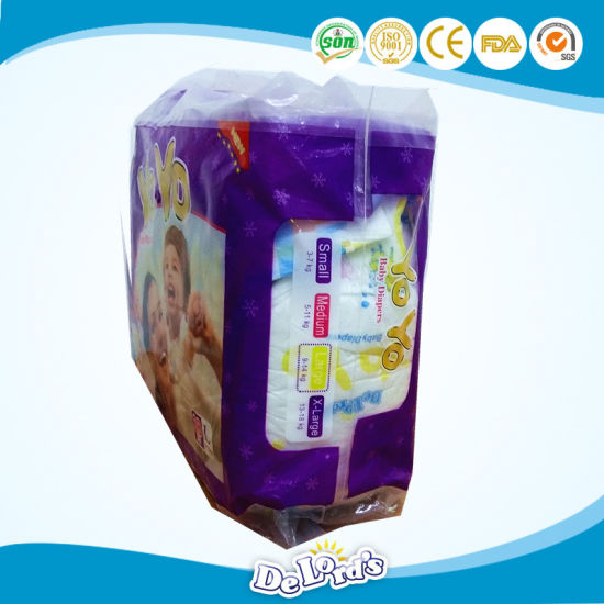 Ultra Soft Breathable Disposable Baby Diapers pictures & photos