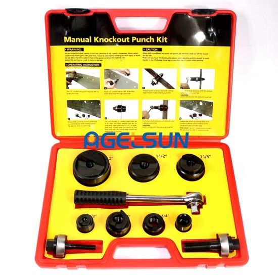 Igeelee Press Hole Tools Cc-60 Range From 22.5 to 61.5 Portable Hole Making Tool, Hand Hole Punch Tool