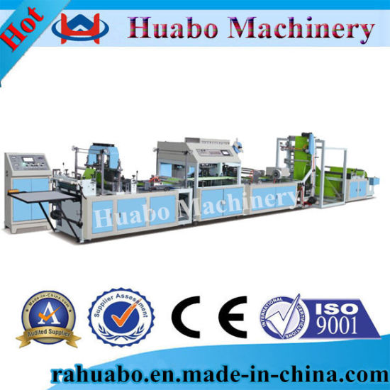Non Woven Fabric Bag Making Machine Price pictures & photos