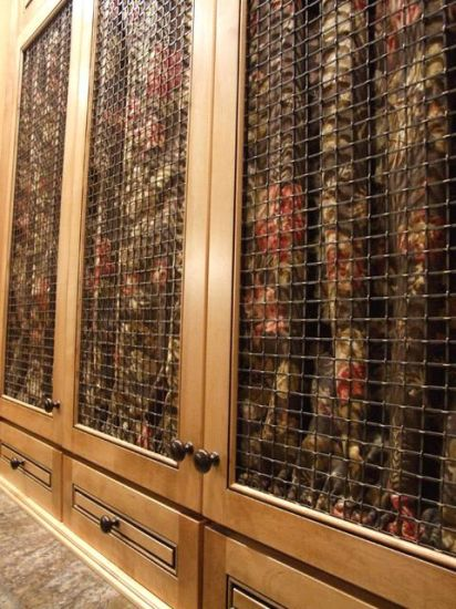 China Decorative Wire Mesh For Cabinets China Woven Mesh