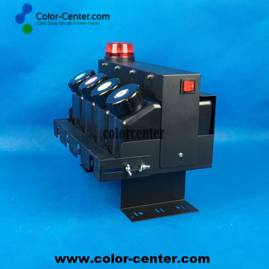 Bulk UV Ink Supply System CISS 4X4 for Roland Mimaki Mutoh UV Printers