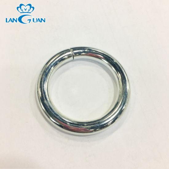 Wholesale Zinc Alloy O Ring Metal Handbag Accessories 6*40mm