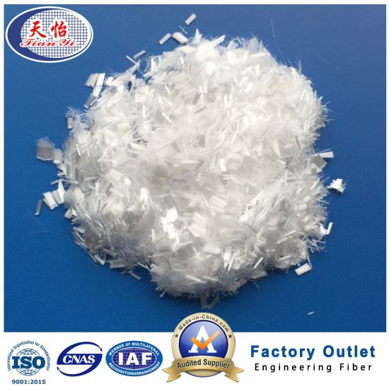 3mm Micro Chopped Synthetic Polypropylene Fiber Building Material pictures & photos