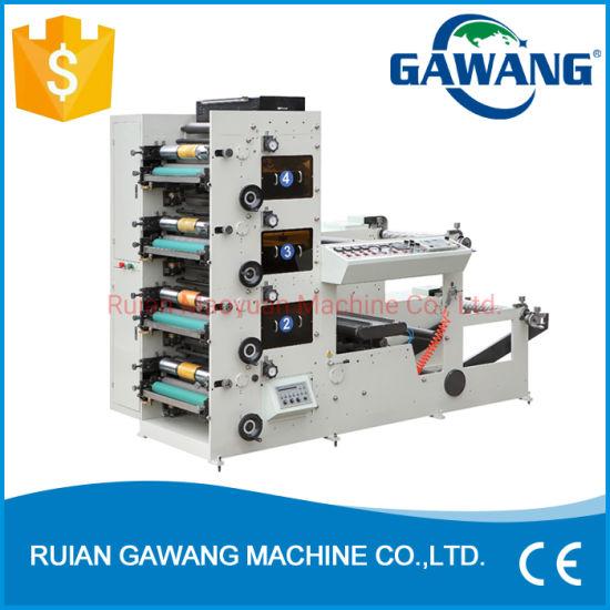 Ce Standard Flexo Label Printing Machine Digital Printing and Cutting Machine for Paper Straw/Plastic Film