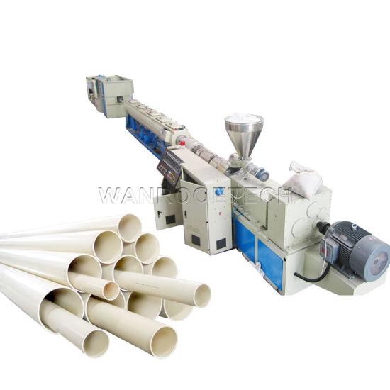 Vacuum Forming Plastic Extruder PVC UPVC WPC Pipe Production Line