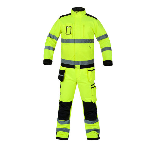 Waterproof Windproof and Wear-Resistant Safety Workwaer Reflective Jacket and Work Uniform and Reflective Uniform