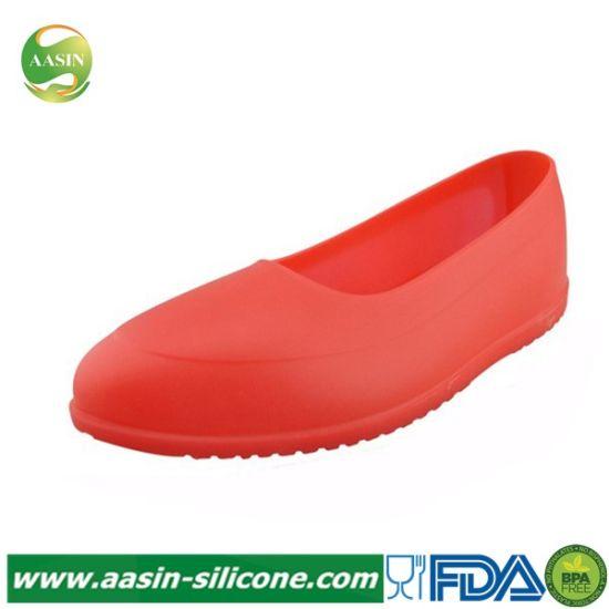 Waterproof Silicone Anti-Slip Rain Boots
