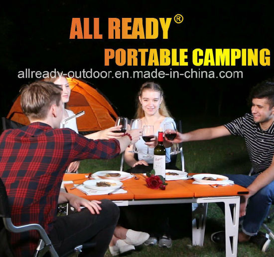 Outdoor Portable Picnic Camping Kitchen Kit for BBQ, Family Party, Camping