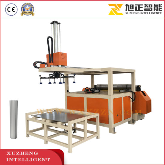 China Factory Automatic 2 Rollers Sheet Metal Plate Rolling Machine