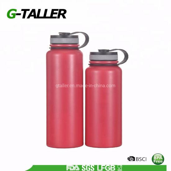 48oz Full Wrap Double Wall Stainless Steel Water Bottle