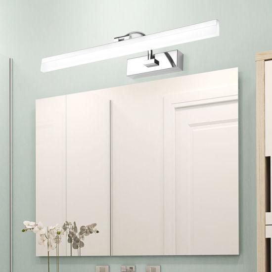 Hot Item European Style Modern Hotel Led Wall Lamp Decorative Lighting Bathroom Makeup Vanity Mirror Light