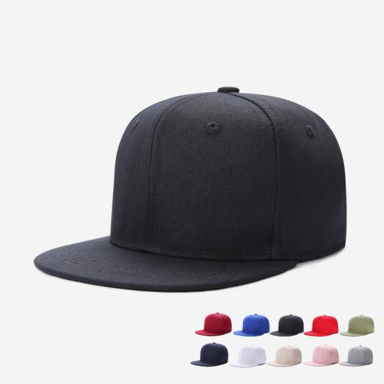 2019 Unisex Logo Custom/OEM Cotton Snapback Baseball Cap/Hat/Hip Hop Caps