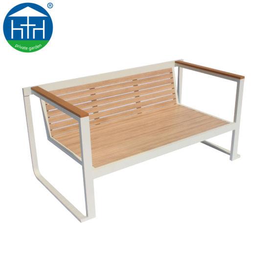 Teakwood High End Southeast Asia Aluminum Sofa Set Outdoor Furniture Patio