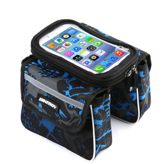 Bike Handlebar Bag with Touch Screen Phone Case
