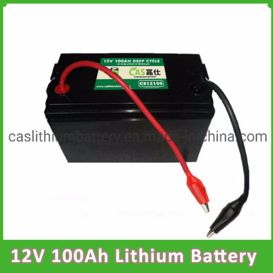 OEM Rechargeable Storage LiFePO4 Battery 12V 100ah for Tricycle