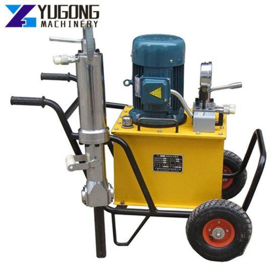 Powerful Hydraulic Construction Machinery Mining Stone Cutting Machine Machine Rock Splitter