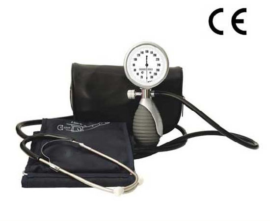 Deluxe Palm Aneroid Sphygmomanometer Kit with CE Approved