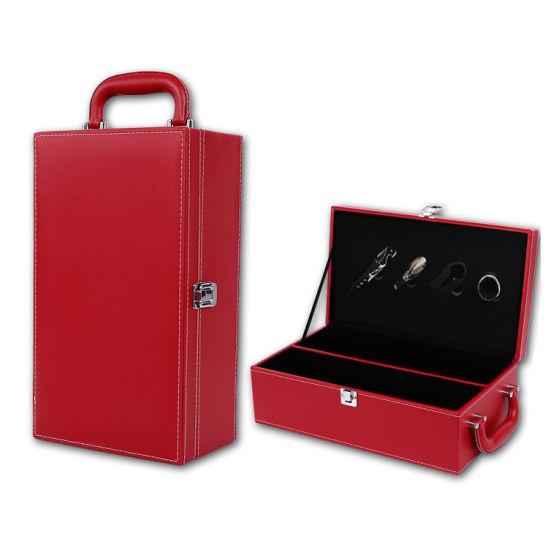 China Customized Luxury Wooden Wine Box For Best China Wine Case