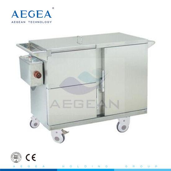 AG-Ss035 Heat Preservation Under Steam Delivering Meals Cart