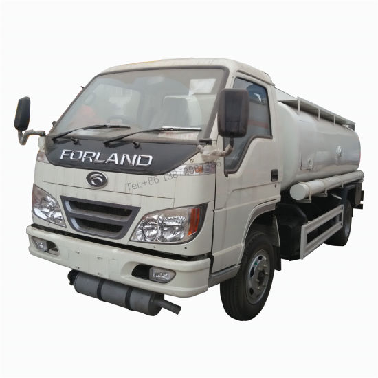 Foton Forland Right Hand Drive 3000 Liters 1000 Gallon Fuel Truck with Dispenser