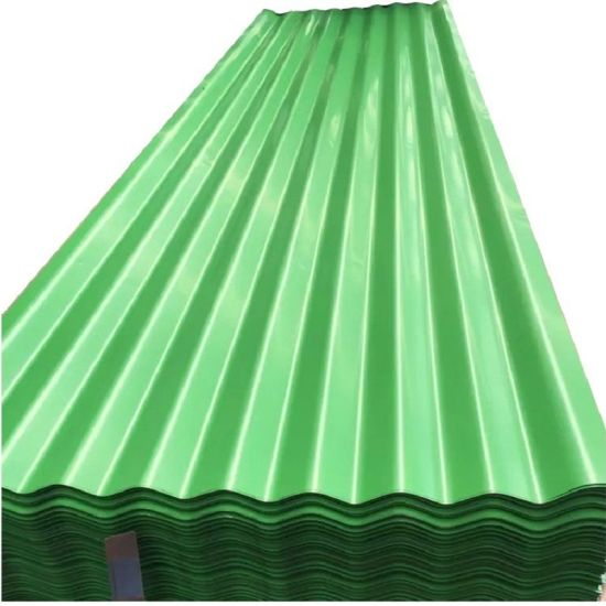 Low Carbon Zinc Coated Sheet Corrugated Metal Roof Sheets