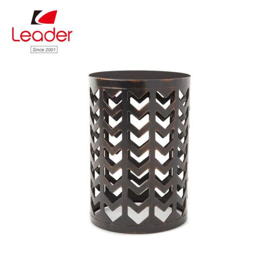 Superb China High Quality Black Lattice Metal Garden Stool For Home Evergreenethics Interior Chair Design Evergreenethicsorg