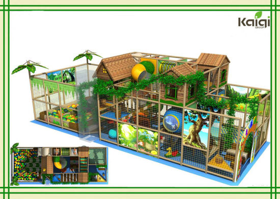 Kaiqi Group Forest Tree House Indoor Playground for Sale/Children Tree House Indoor Playground/Kids Indoor Playground of Tree House, Theme Park pictures & photos