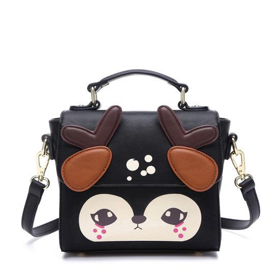 eb014efe533 China Cartoon Deer Satchel Bag and Girls Designer Handbag - China ...