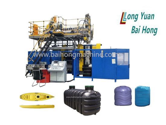 China Automatic Plastic Injection HDPE PP Bottle, Drum, Bucket Canister Container Extrusion Making Blowing Blow Molding/Moulding Machine
