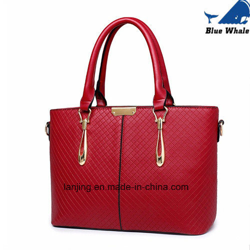 3 PCS/Set Leather Designer Handbag Ladies Bags Women Handbags pictures & photos
