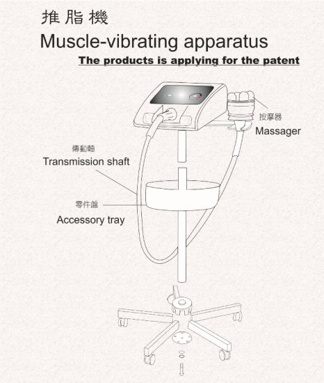 Body Massage Vibrating Machine Lose Weight pictures & photos