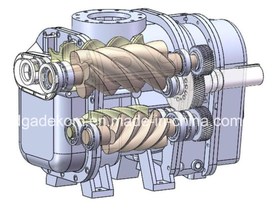 Industrial Energy Saving Screw Two Stage Oil Air Compressor (KD75-13II) pictures & photos