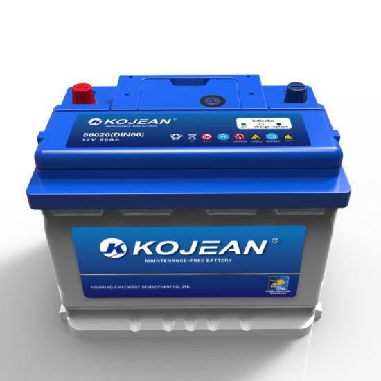 Mf DIN60 56020 12V 60ah Maintenance Free Lead Acid Car Battery