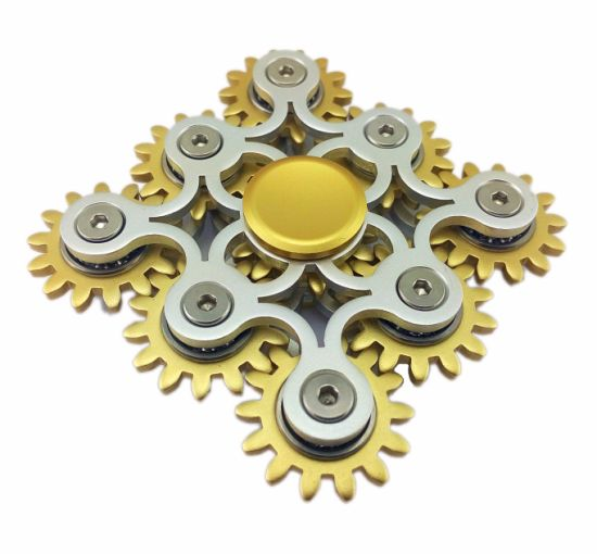 Metal Alloy Aluminum Anti Stress Toy Finger Spinner pictures & photos