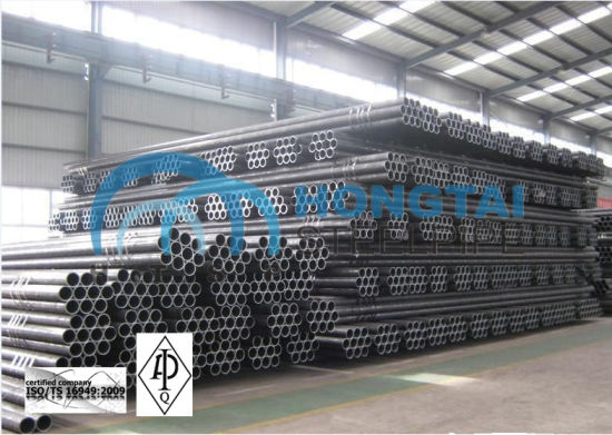 with API Monogram Certificate License Hot Rolled ASTM A106 Gr B Seamless Steel Pipe pictures & photos