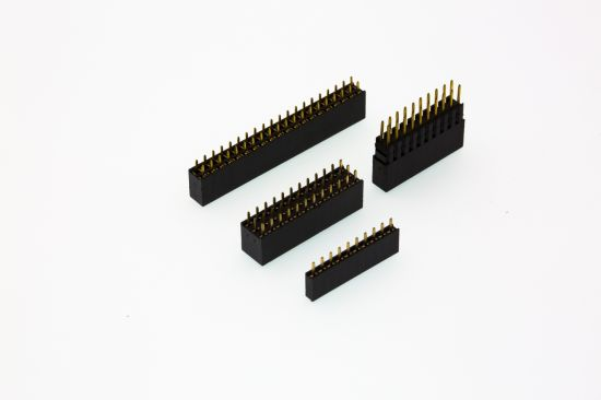 1.27mm/2.0mm/2.54mm Female Header Single/Dual Row Straight/Right Angle/SMT